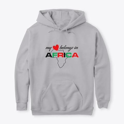 My heart belongs In Africa hoodie