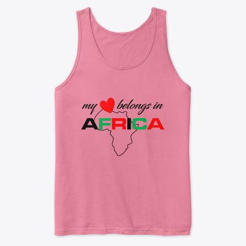 My heart belongs In Africa tank top