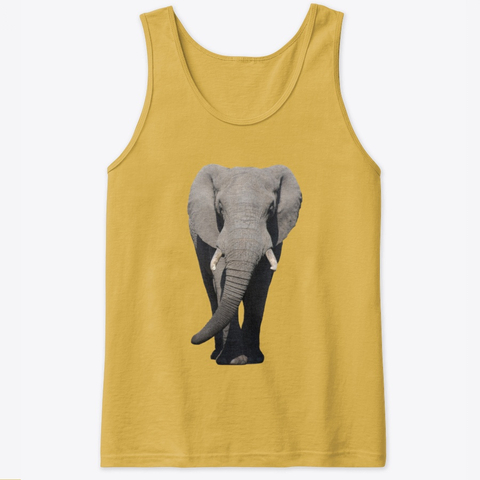 African Elephant Classic tank top