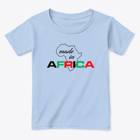Made in Africa toddler tee