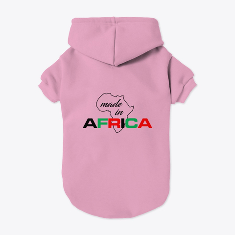 Made in Africa pet hoodie