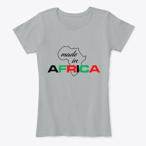 Made in Africa women's comfort tee