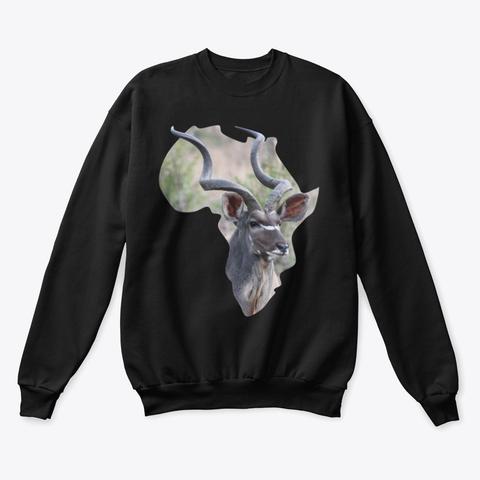 Africa with Kudu fill - long sleeve t-shirt
