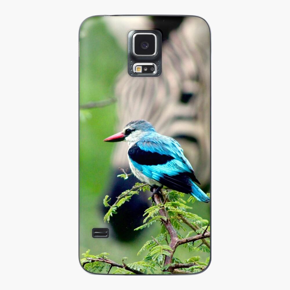 Kingfisher and Zebra samsung galaxy skin