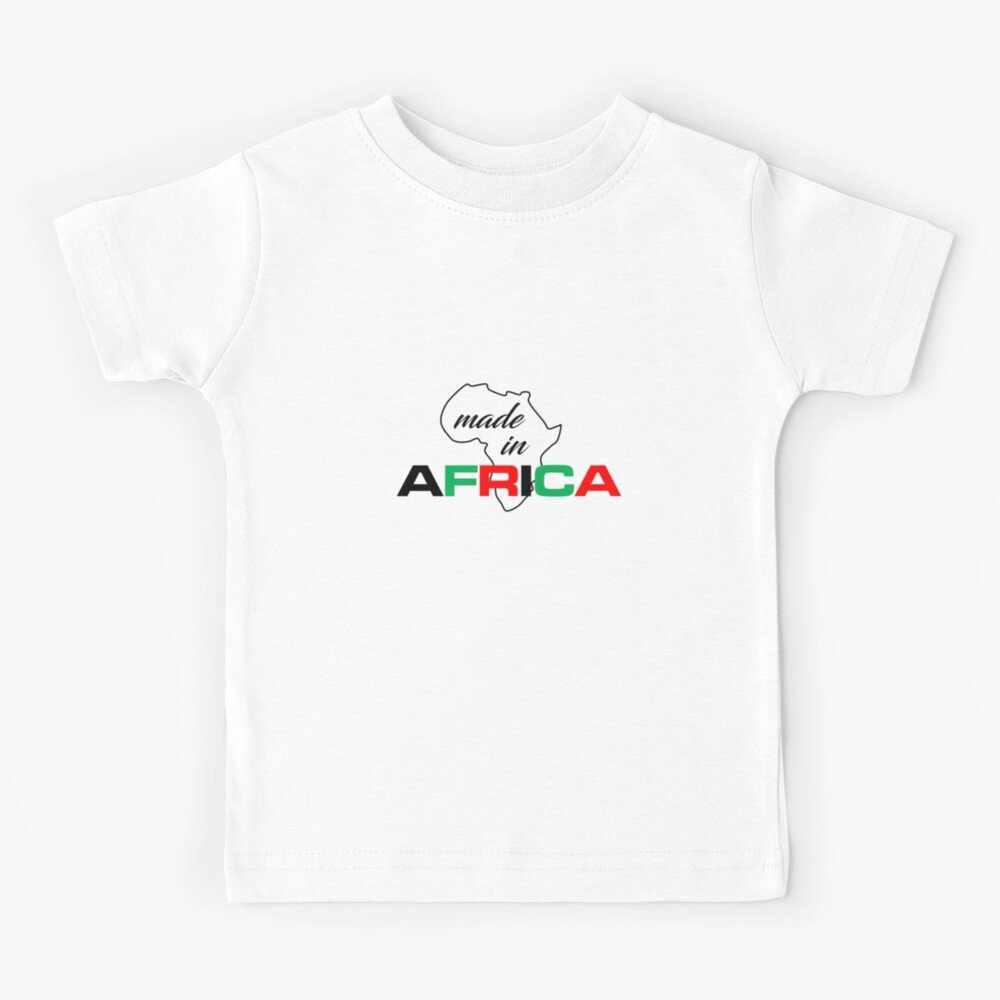 Made In Africa kid's t-shirt