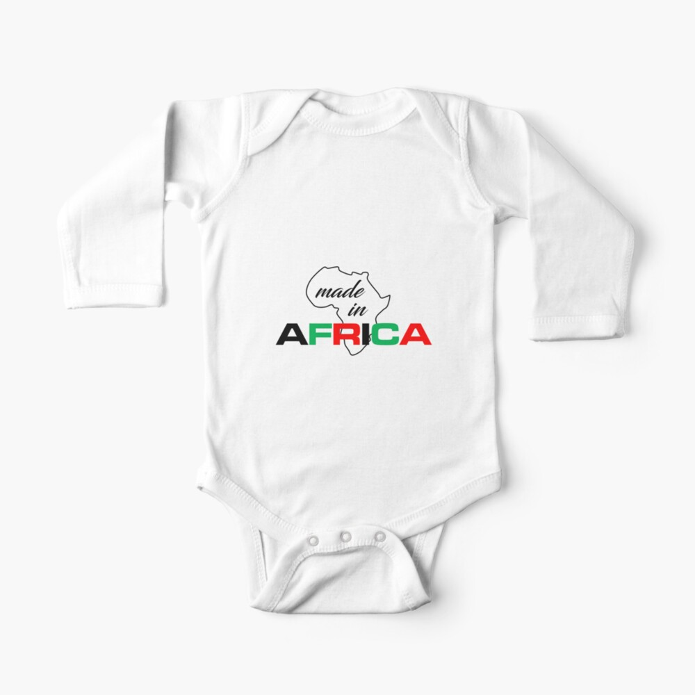 Made In Africa babygrow