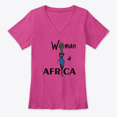 Woman of Africa t-shirt