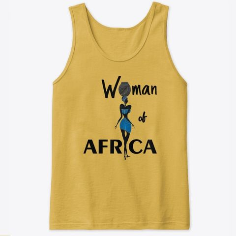 Woman of Africa tank top