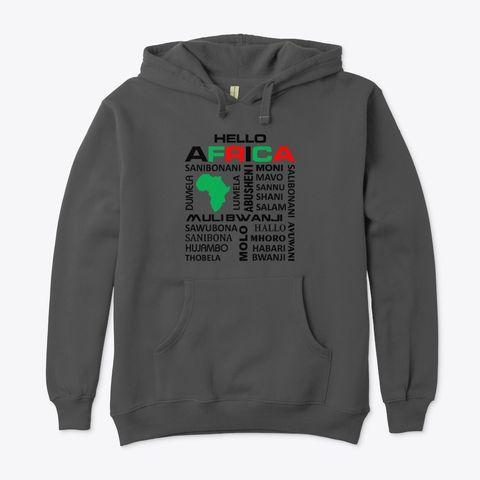 Hello Africa hoodie
