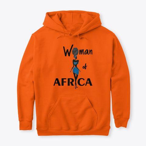 Woman of Africa hoodie