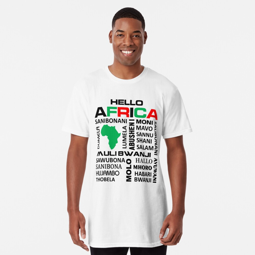 Made in Africa long t-shirt