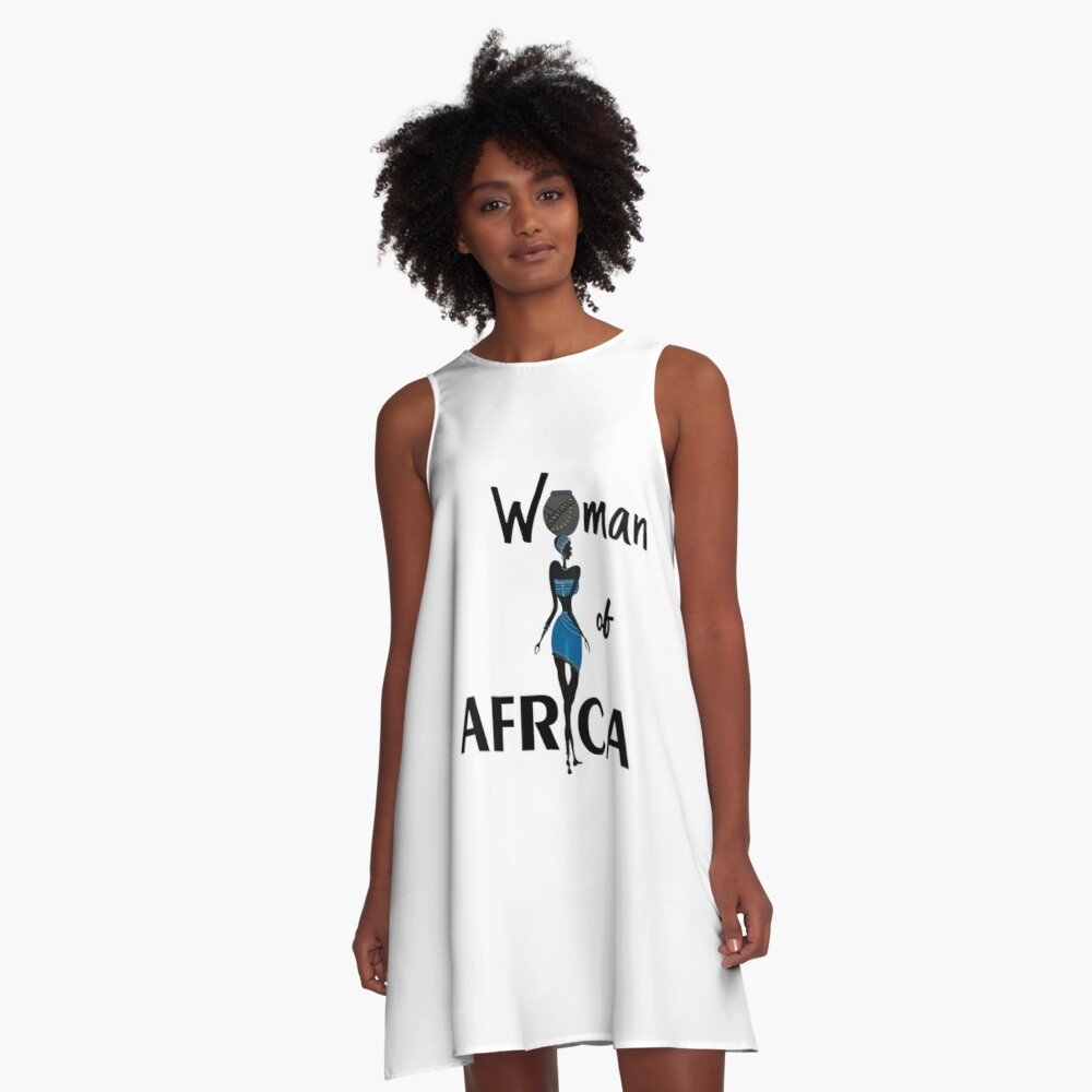 Woman of Africa dress